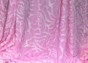 Меховой плед-покрывало Роза Розовая