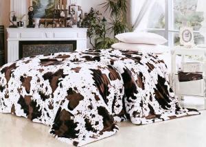 Меховой плед шкура коровы