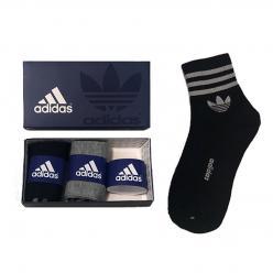 Носки в подарочной упаковке 3 пары adidas
