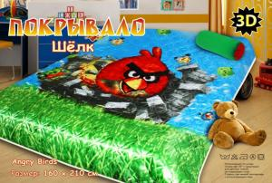 Покрывало детское Angry Birds