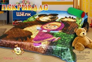 Покрывало детское Маша и медведь