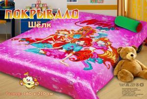 Покрывало детское Winx (розовое)