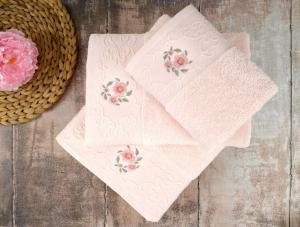 Полотенце банное Irya Loya Pink розовый