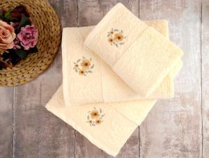 Полотенце банное Irya Loya Sari желтый