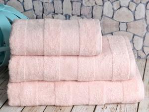 Полотенце банное Irya Nova Somon светло-розовый