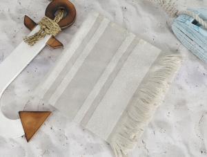 Полотенце пляжное Irya Derin Stone капучино