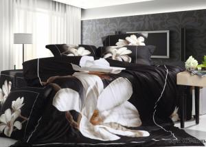 Постельное белье сатин 3D Diva Afrodita Premium 012-Ночь