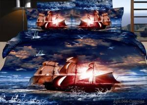 Постельное белье сатин 3D Diva Afrodita Premium 044-Одиссея