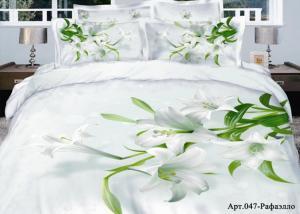 Постельное белье сатин 3D Diva Afrodita Premium 047-Рафаэлло