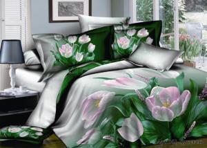 Постельное белье сатин 3D Diva Afrodita Premium 061-Хрусталь