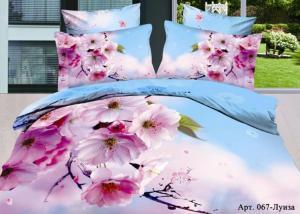 Постельное белье сатин 3D Diva Afrodita Premium 067-Луиза